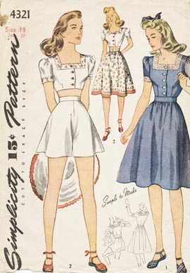 Simplicity_4321_1940s_shorts