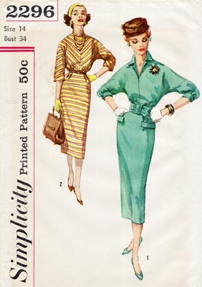 Simplicity_1950s_bias_dress.com