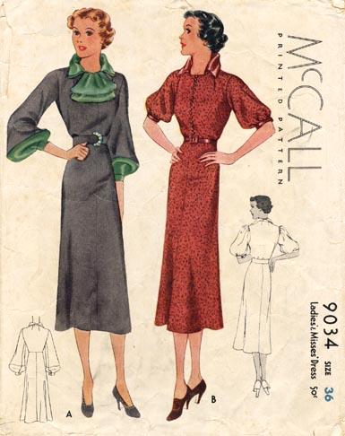 Mccall_9034_1930s_pattern