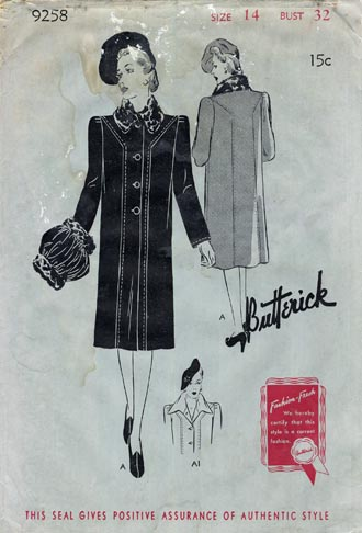 Butterick_9275_40s_coat