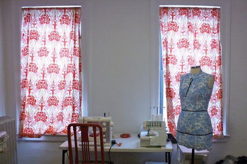Gertie sewing room