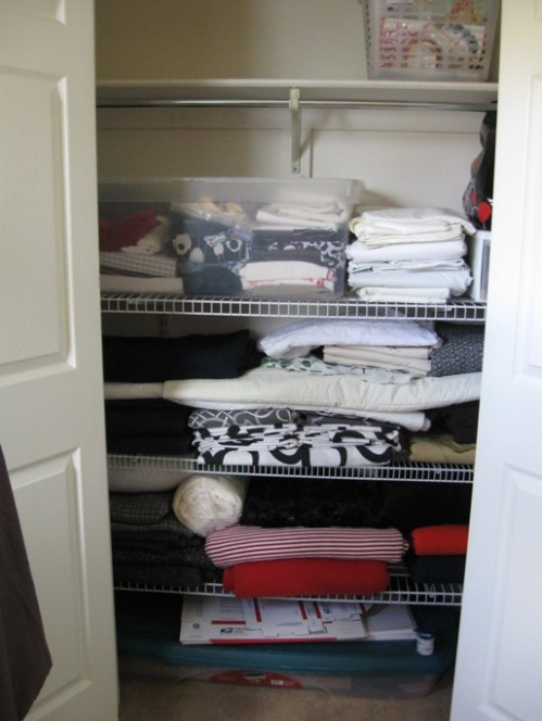 Alittlesewing fabric closet