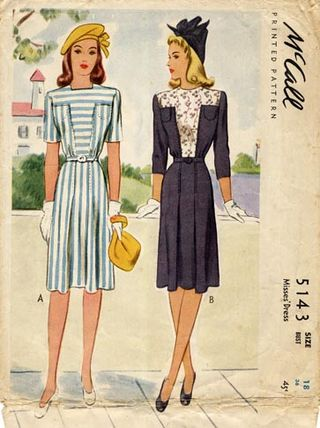 Mccall_5143_swing_shift_dress