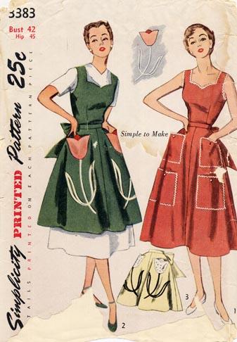 Simplicity_apron_1950s
