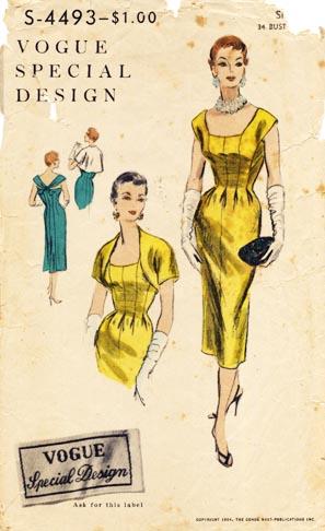 Vogue_1950s_dress_bolero