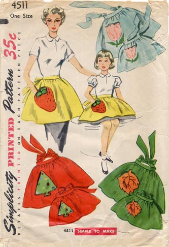 1950s_xmas_apron_pattern