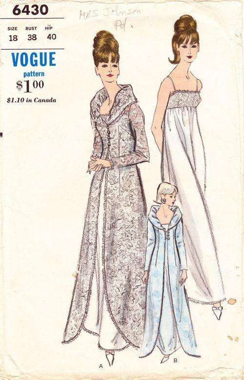 Vogue-6430?lingerie